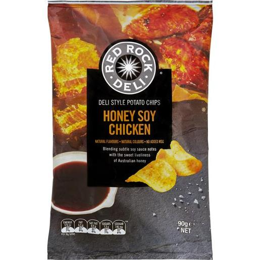 HONEY SOY CHICKEN POTATO CHIPS 90GM