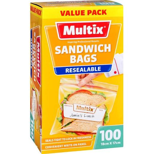 QUICK ZIP SANDWICH BAGS 100S