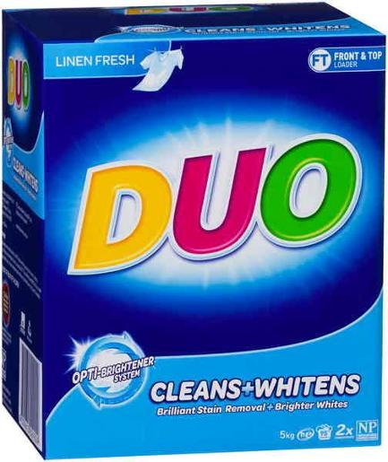 CLEANS AND WHITENS LAUNDRY POWDER 5KG