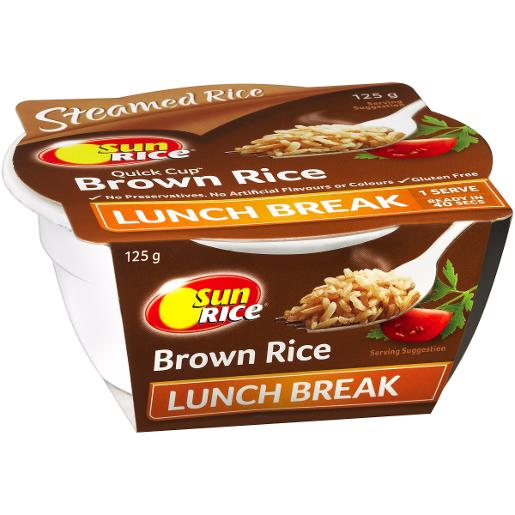 QUICK CUP BROWN RICE 125GM