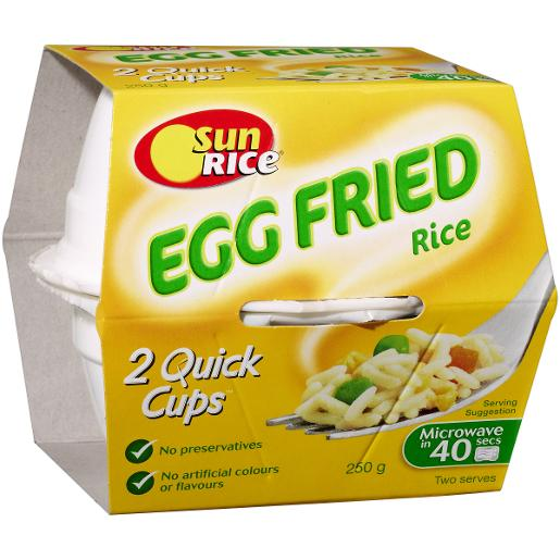 EGG FRIED RICE CUP 250GM