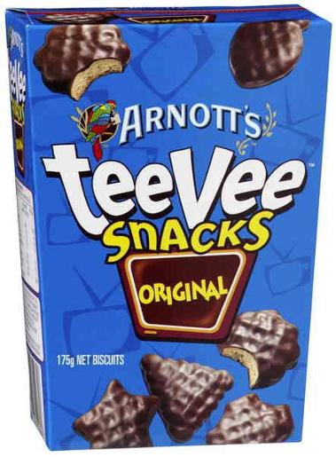 BISCUITS CHOCOLATE TEEVEE ORIGINAL 175GM
