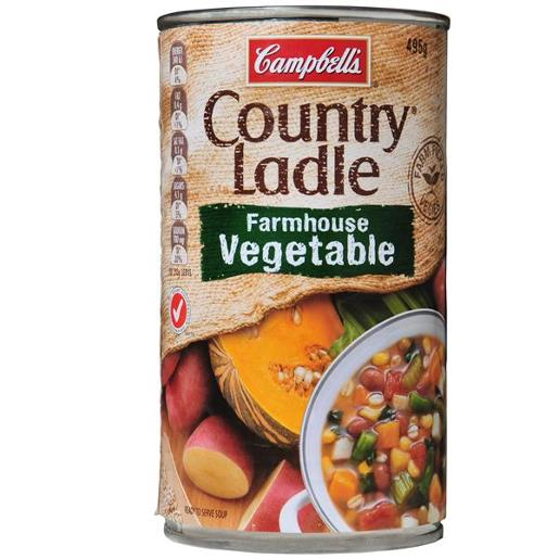 COUNTRY LADLE SOUP FARMHOUSE VEGETABLE 495G