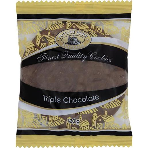 TRIPLE CHOCOLATE COOKIE 120GM