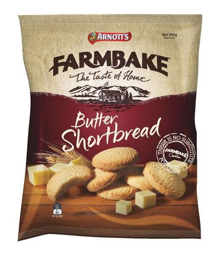 FARMBAKE COOKIES BUTTER SHORTBREAD 350G