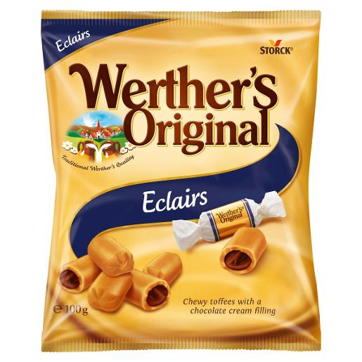 WERTHERS ORIGINAL ECLAIRS LOZENGE 100GM
