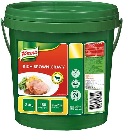 GRAVY SAUCE RICH BROWN 2.4KG