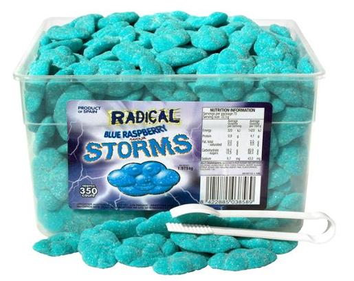BLUE RASPBERRY STORMS 350S