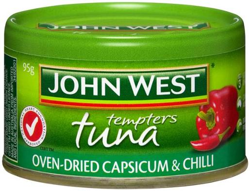 TUNA TEMPTERS CAPSICUM AND CHILLI 95GM