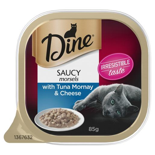 TUNA MORNAY TOPPED WITH CHEESE CAT FOOD 85GM