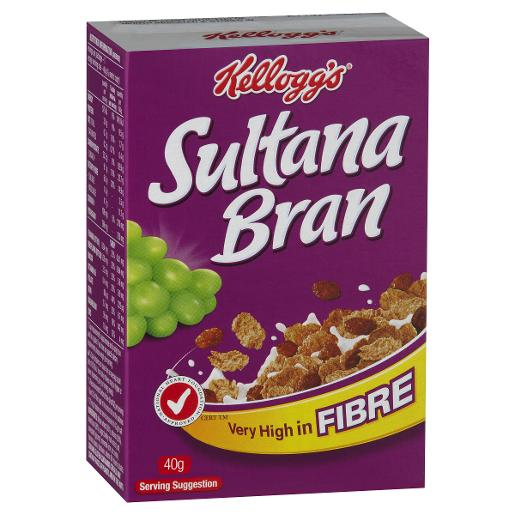 SULTANA BRAN INDIVIDUAL PORTIONS 40GM
