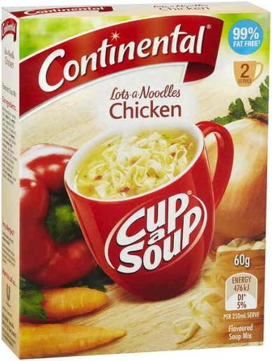 CHICKEN LOTS-A-NOODLES SOUP 2 SERVES 60GM
