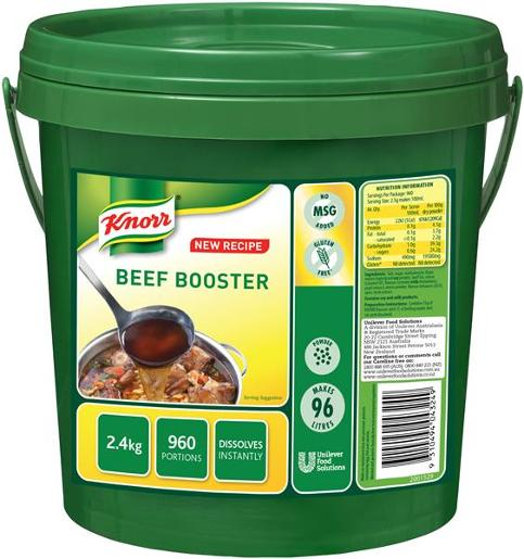 BOOSTER BEEF 2.4KG