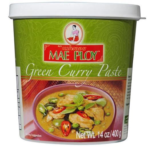 GREEN CURRY PASTE 400GM