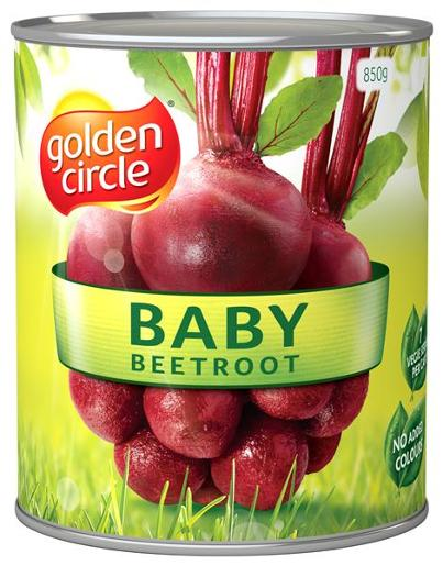 WHOLE BABY BEETROOT 850GM