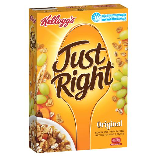 JUST RIGHT ORIGINAL 460GM