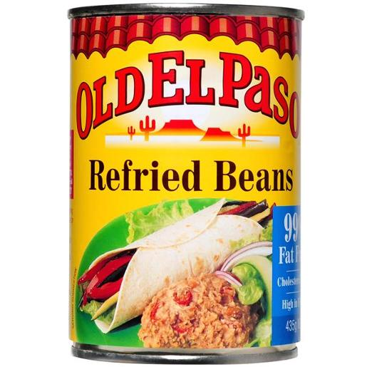 REFRIED BEANS 435GM