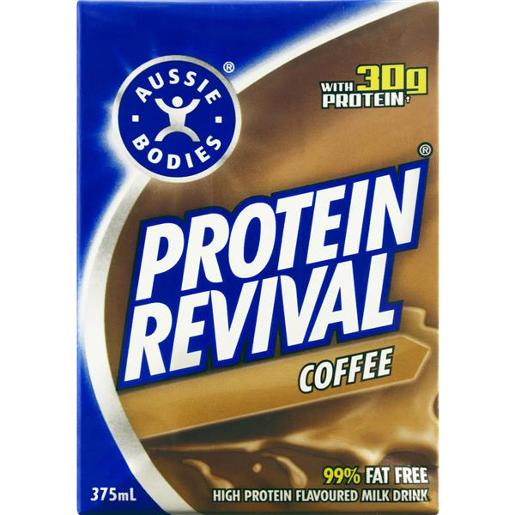 COFFEE PROTEIN REVIVAL DRINK 375ML