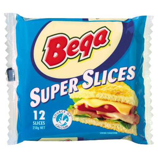 CHEESE SUPER SLICES 250GM