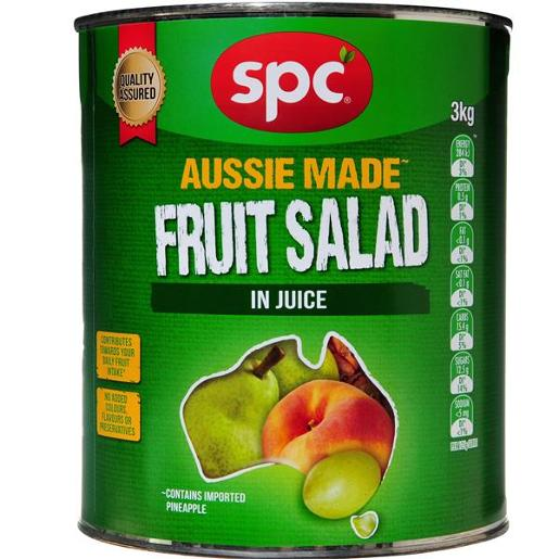 FRUIT SALAD IN REFINED FRUIT JUICE 3KG