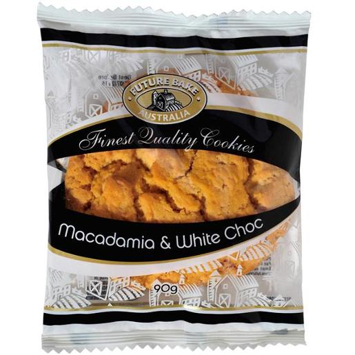 MACADAMIA & WHITE CHOCOLATE COOKIE 90GM