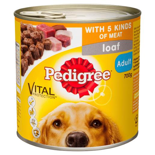 FIVE KINDS OF MEAT DOG FOOD 700GM