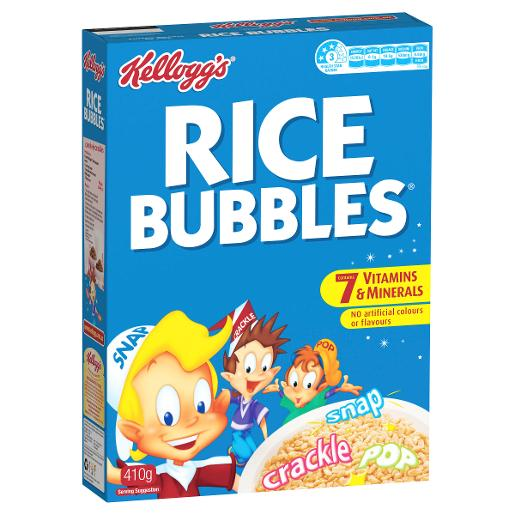 RICE BUBBLES 410GM