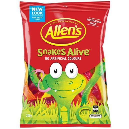 SNAKES ALIVE 200GM