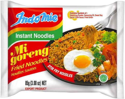 MI GORENG INSTANT NOODLE FRIED 85GM