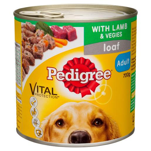 LAMB DOG FOOD 700GM