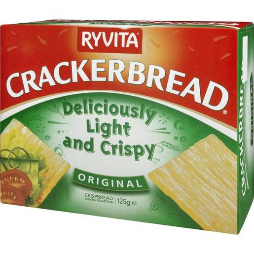 ORIGINAL CRACKERBREAD 125GM