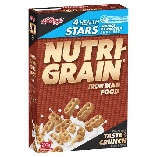 NUTRI-GRAIN 200GM
