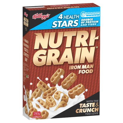 NUTRI-GRAIN 290GM