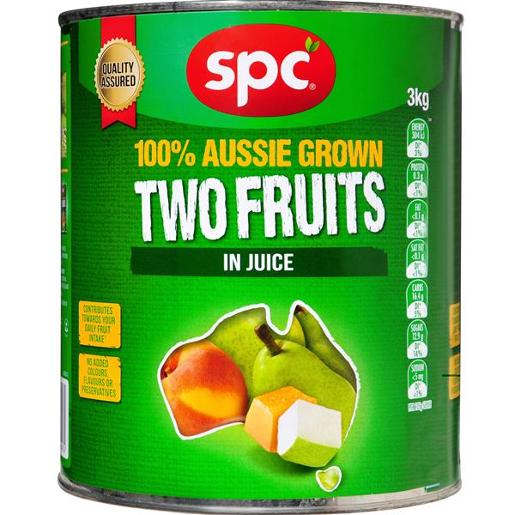 TWO FRUITS IN NATURAL JUICE 3KG