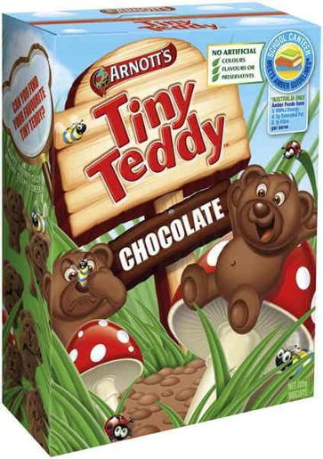 TINY TEDDY CHOCOLATE 200GM