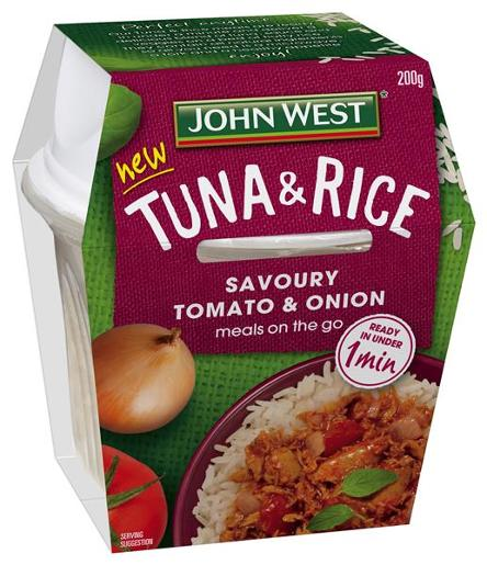 TOMATO & ONION TUNA & RICE 200GM