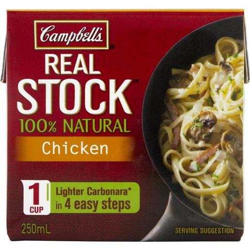 REAL STOCK CHICKEN 250ML