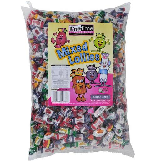 MIXED LOLLIES 2KG