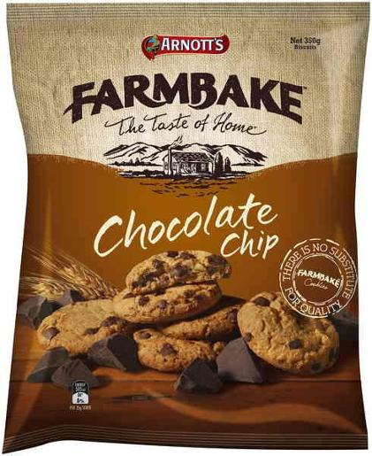 FARMBAKE COOKIES CHOCOLATE CHIP 350GM