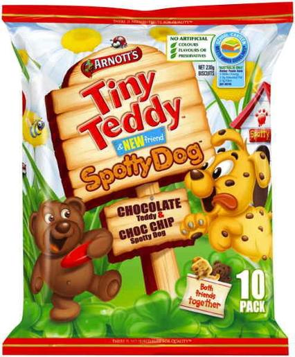 TINY TEDDY AND SPOTTY DOG MULTIPACK 230GM