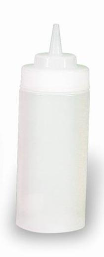 CLEAR SQUEEZE BOTTLE 480ML