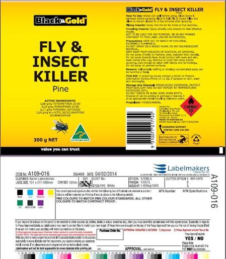 FLY AND INSECT SPRAY PINE 300GM