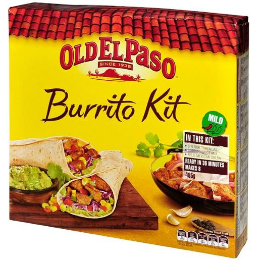 BURRITO KIT 485GM