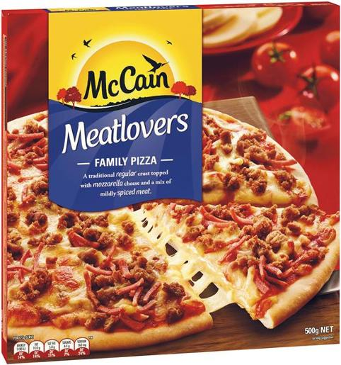 MEATLOVERS PIZZA 500GM