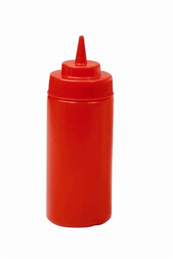 RED SQUEEZE BOTTLE 1EA