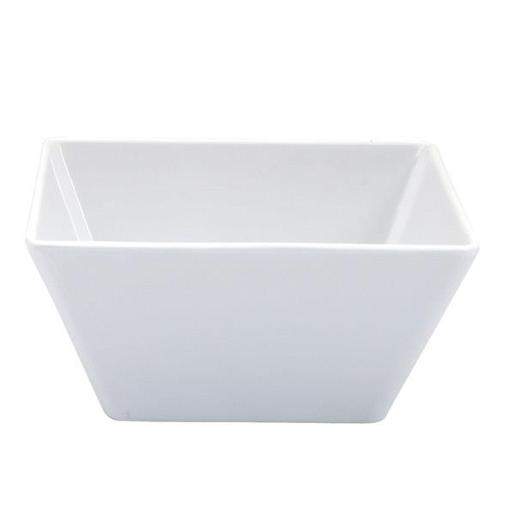 BOWL SQUARE WHITE 1EA