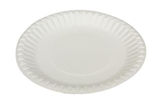 PAPER PLATES 180MM 50S
