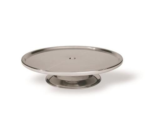 CAKE STAND 18/8 LOW 1EA
