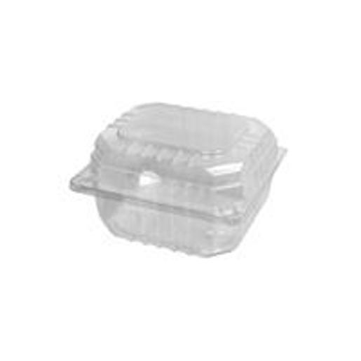 FOAM CLAM BURGER CLEAR SMALL 250S
