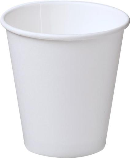 SINGLE WALL WHITE PAPER CUP 280ML 50S